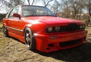 BMW E30 auto aplīmēšana