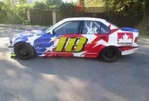 BMW E36 drifta auto aplīmēšana