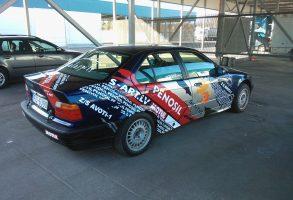 BMW E36 supersprinta auto aplīmēšana