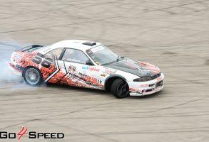 Nissan Skyline drifta auto aplīmēšana