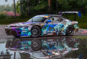 Nissan drifta auto aplīmēšana