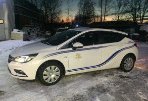 Koblenz Drošība Opel Astra auto aplīmēšana