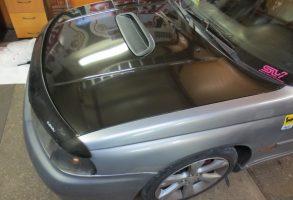 Subaru kapota haubes aplīmēšana