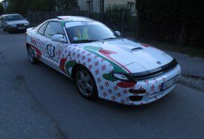 Toyota Celica auto aplīmēšana