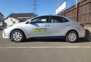 Toyota Corolla Būvniecības ABC auto aplīmēšana