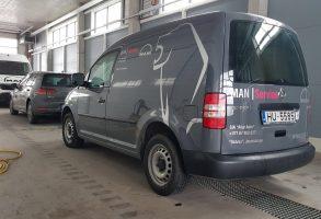 MAN Avar Auto centrs VW Caddy aplīmēšana