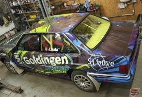 pilna auto aplīmēšana ar auto dizaina izstrādi