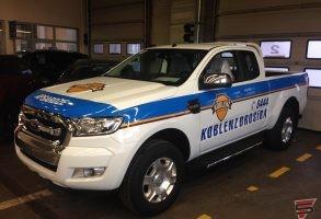 Koblenz Drošība apsardzes auto aplīmēšana
