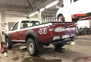 auto uzlīmes un auto aplīmēšana Nissan
