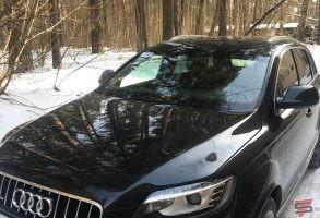 Audi Q7 stiklu tonēšana