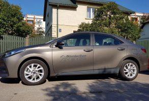auto aplīmēšana Būvniecības ABC Toyota Corolla