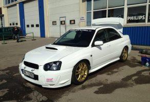 Subaru STi auto pilna aplīmēšana