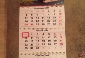 sienas kalendāri un druka