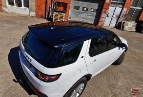 Auto jumta aplīmēšana ar līmplēvi
