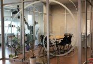 Ofisa stiklu aplīmēšana