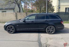 Mercedes Benz C220 logu tonēšana