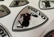 Volvo 3D uzlīmes