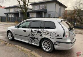 SAAB auto aplīmēšana