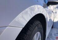 Auto detaļu aplīmēšana ar aizsargplēvi