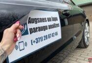 Auto magnētiskās uzlīmes