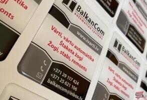 3D BalkanCom uzlīmes