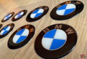 BMW 3D uzlīmes