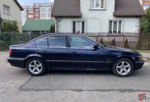 BMW E39 logu tonēšana