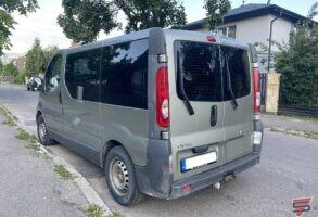 Opel Vivaro logu tonēšana